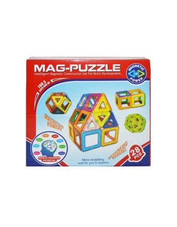 Joc constructii magnetic in...