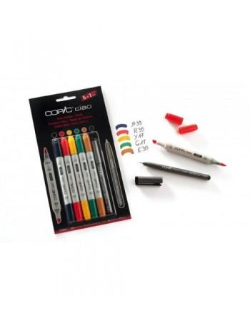 Set markere Copic Ciao 5 +...
