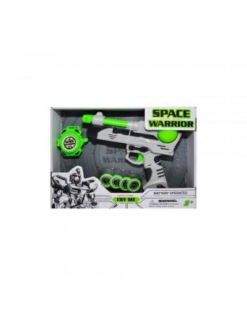 Pistol Spatial Cu Discuri...