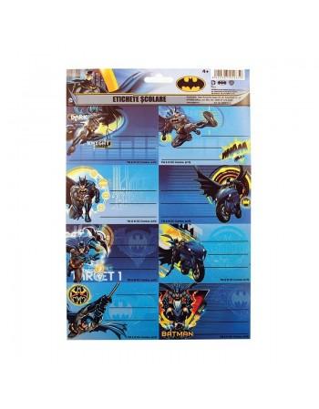 Etichete scolare Batman