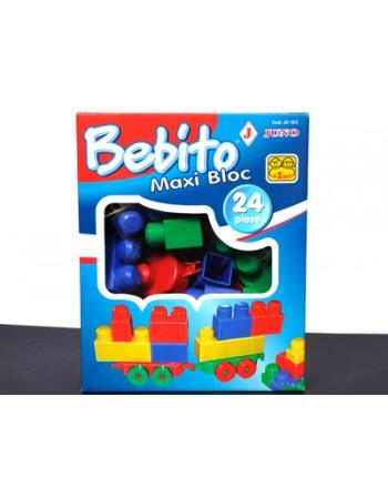 Joc Bebito Maxi Bloc 24 piese